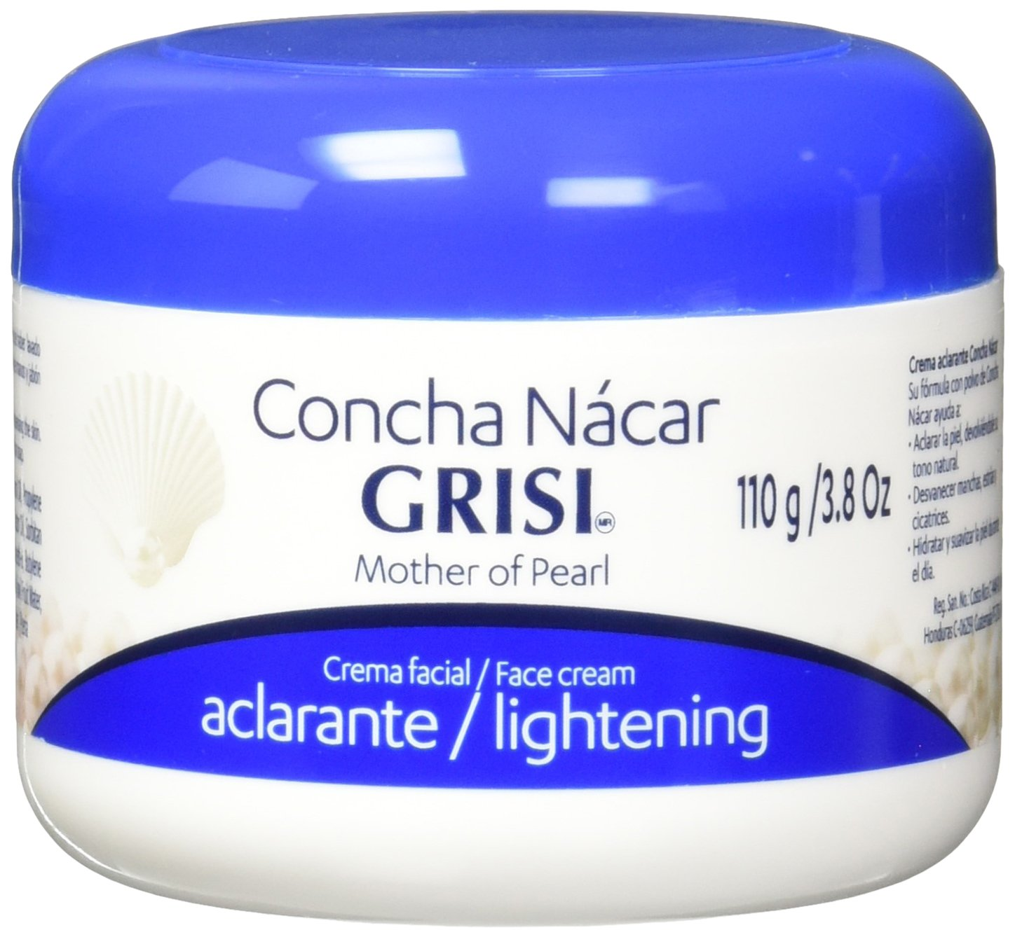 Concha Nacar Grisi Face Cream| Lightening Face Moisturizer for an Even Skin Tone, Skin