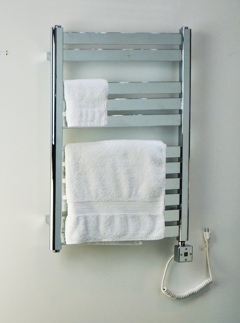 Amazon.com: Heated Towel Rail Electric Wall Mount Bathroom Towel ...