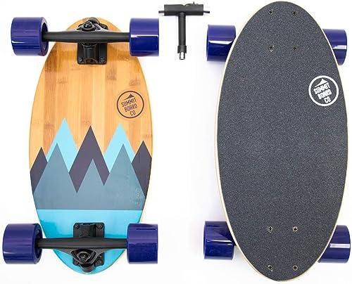 Summit Board Co Short Longboard Skateboard Deck