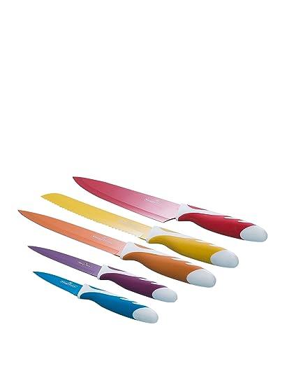 Compra Magefesa Set De 5 Cuchillos Colores en Amazon.es