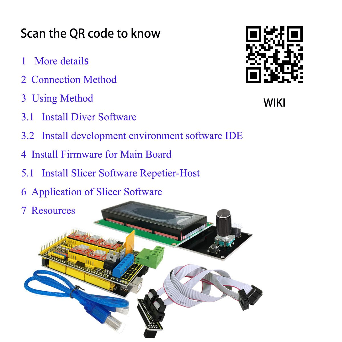 Amazon com: KEYESTUDIO: cnc/printer kit