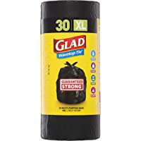 Glad Wavetop Tie Garbage Bag Roll, 30 count
