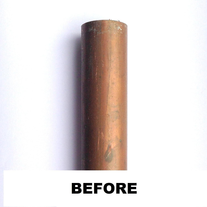 10 paños limpiadores de tuberías de cobre para fontanería, herramienta de limpieza de soldadura, 140 mm x 60 mm: Amazon.es: Bricolaje y herramientas