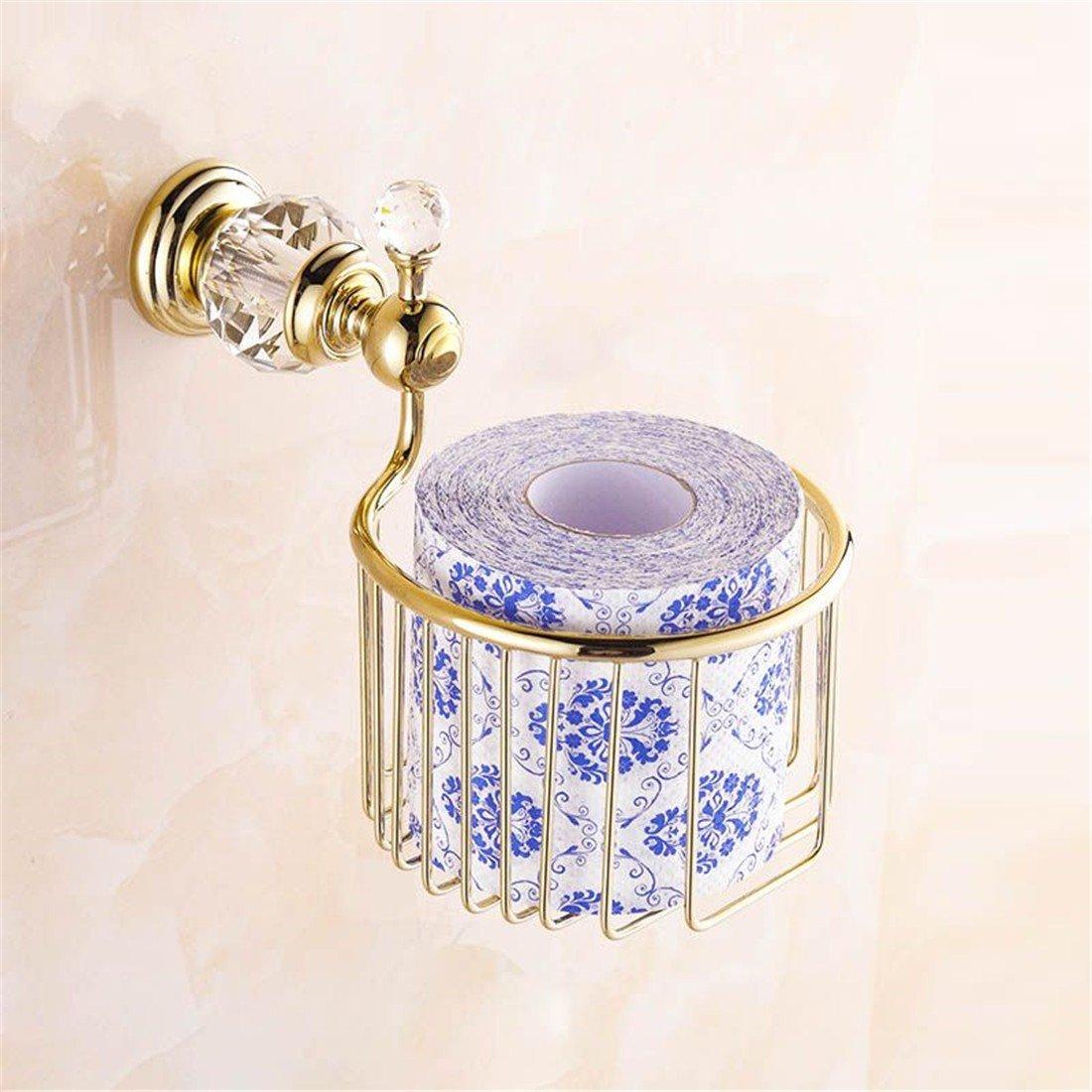 ... Accessories Accesorios de Baño Set montado en Pared Cristal de Cobre  Dorado Europeo Traje de baño Accesorios toallero toallero Cepillo Sanitario  Frame ... cddc9ba0942f