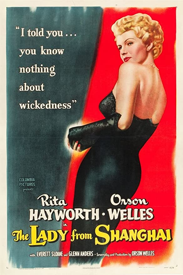 Amazon.com: Posterazzi The Lady From Shanghai Rita Hayworth 1947. Movie  Masterprint Poster Print, (11 x 17): Posters & Prints