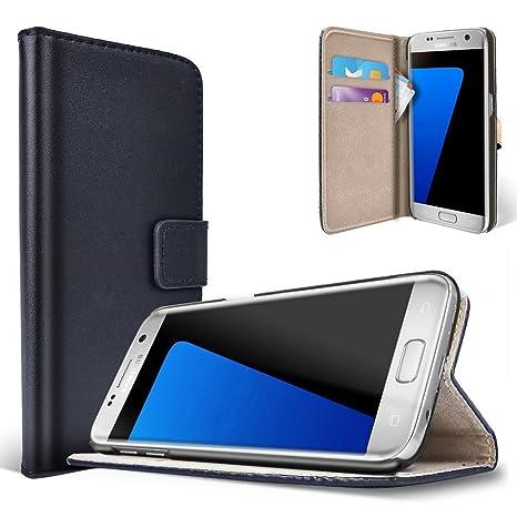 saii Funda Samsung Galaxy S7 Edge [Estilo Libro y Cierre ...