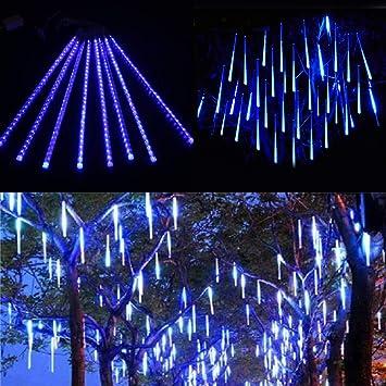 Miniao Upgrade Meteor Lights, 20 inches 10 Tube 480 LEDs Meteor Shower Rain  Lights Waterproof - Amazon.com : Miniao Upgrade Meteor Lights, 20 Inches 10 Tube 480