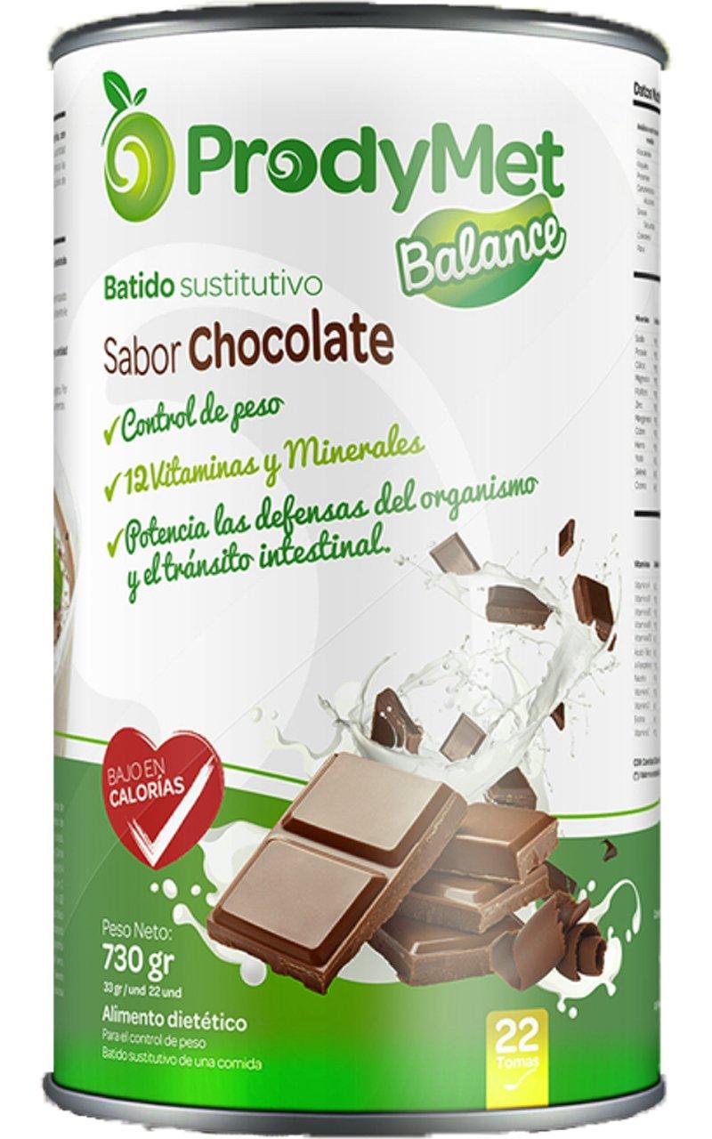 Batido Nutricional Sustitutivo Sabor Chocolate Prodymet Balance 730 gr.: Amazon.es: Salud y cuidado personal