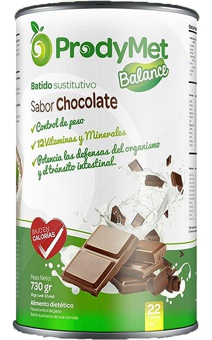 Batido Nutricional Sustitutivo Sabor Chocolate Prodymet Balance 730 gr.