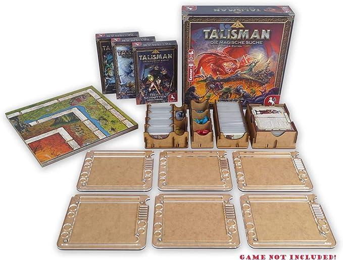 docsmagic.de Insert for Talisman 2019 Box + 6 Player Organizer ...