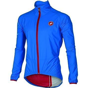 Castelli Riparo Rain Jacket, color azul, talla XL: Amazon.es: Deportes y aire libre
