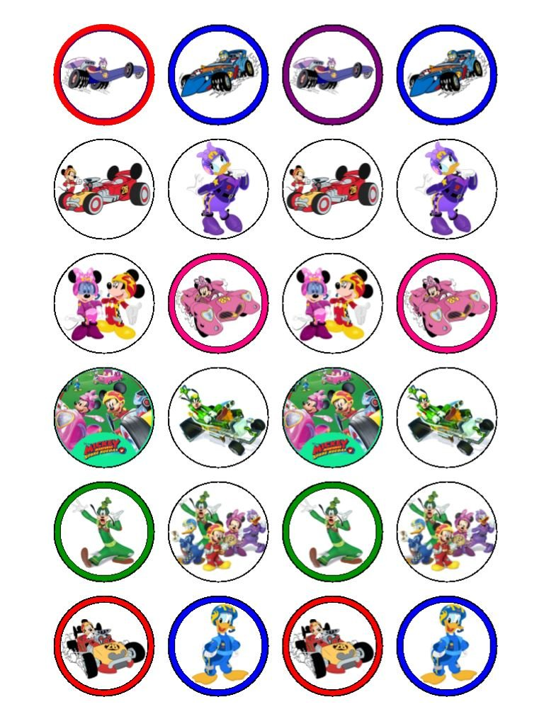 24 The Wiggles Cupcake Cake Toppers #2