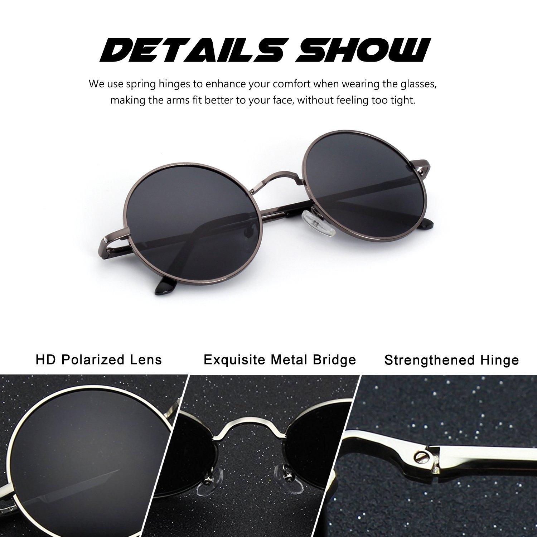 16619238e CGID E01 Retro Vintage Style Lennon Inspired Round Metal Circle ...