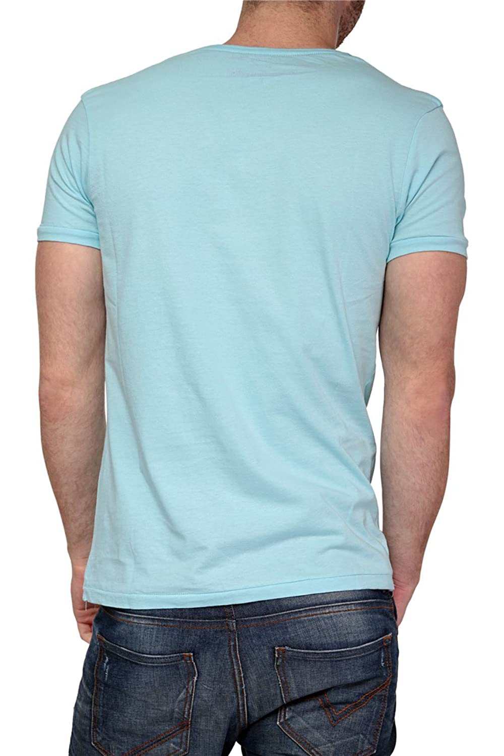 Phazz Brand Munich Graphic Tee TERRY, Color: Light Blue