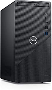2021 Newest Dell Inspiron Desktop 3880, Intel Quad-Core i5-10400 up to 4.3 GHz, 16GB Memory, 1TB SSD, DVD-RW, Wireless-AC, HDMI, VGA, Bluetooth, Win10 Home, Black +Oydisen Cloth