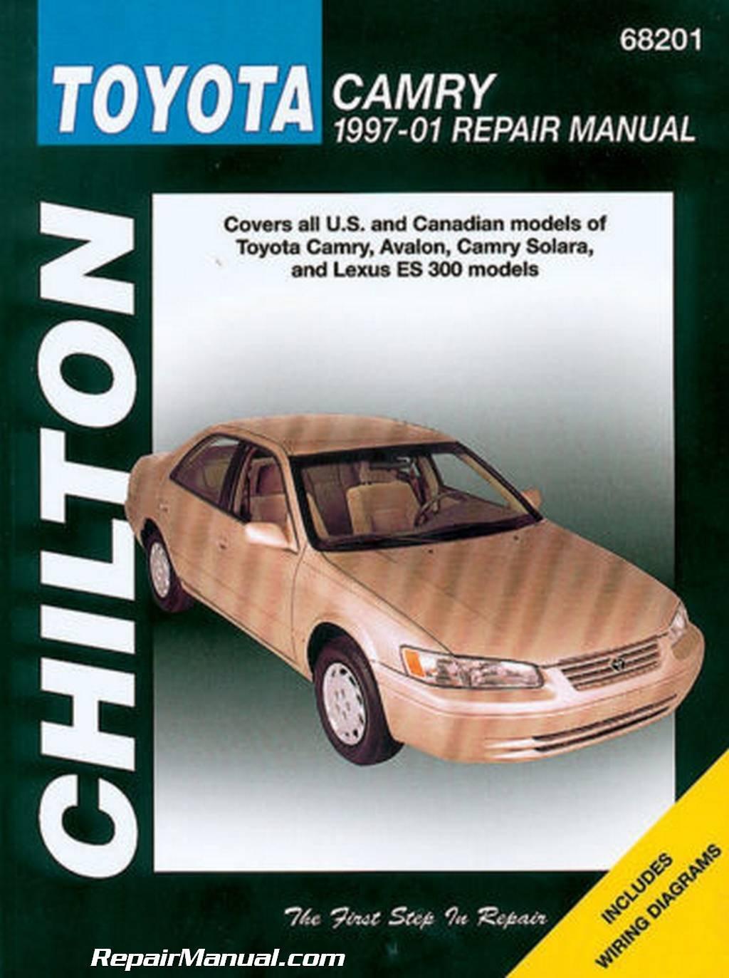 CH68201 Chilton Toyota Camry Avalon Solara Lexus ES 300 1997-2001 Auto Repair  Manual: Manufacturer: Amazon.com: Books