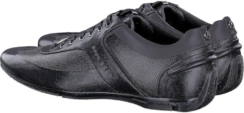 hugo boss black leather shoes