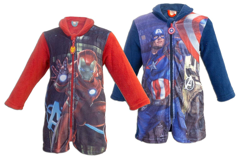 Giacca Da Camera Uomo Prezzo : Marver avengers giacca da camera con zip full print in pile a