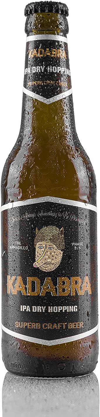 Cerveza KADABRA IPA DRY HOPPING caja de 12 unidades de 33cl: Amazon.es: Alimentación y bebidas