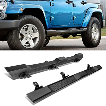 2017 Jeep Wrangler Unlimited Accessories >> A K Running Board For 07 17 Jeep Wrangler Jk 4 Doors Oe Factory Style Side Step Nerf Bar Accessories For Jeep Wrangler Jk Sahara Rubicon Doesn T Fit