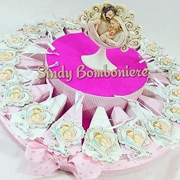 Idee Bonbonniere Kuchen Madchen Taufe Geburt Baum Herz Heilige