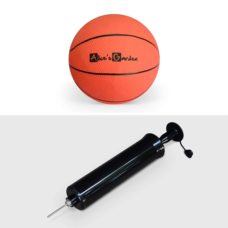 Alices Garden Mini Panier de Basket Magic accroche Murale ou sur Porte avec Ballon