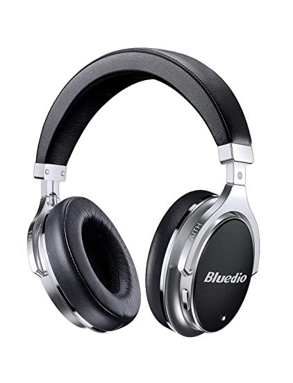 ac6cf0af5a6 Bluetooth Headphones Active Noise Cancelling, Bluedio F2 ANC Over Ear Wireless  Headphones 180° Rotation