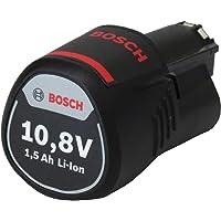 Bosch Professional 12 V accu (compatibel met 12 V) 1600Z0002W zonder laadapparaat 1,5 Ah zwart