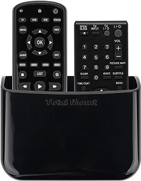 TotalMount Soporte universal para un mando a distancia Soporte de pared Soporte de mesa Caja de almacenamiento para 2 mandos a distancia uno al lado del otro: Amazon.es: Electrónica