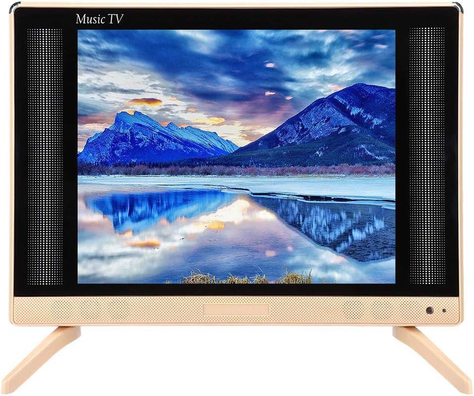 Ccylez Televisor LCD de 22 Pulgadas, Mini TV de Alta definición, TV portátil con Altavoz de Graves, Alta resolución 1366x768, TV para USB/VGA/TV/AV/HDMI(YO): Amazon.es: Electrónica