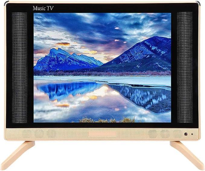 Televisor LCD de 24 Pulgadas, 1366x768 260cd/m2 HDMI/USB/VGA/TV/AV HD Pantalla de televisión doméstica con Altavoz de Sonido estéreo para TV Tradicional, decodificador, etc.(UE): Amazon.es: Electrónica
