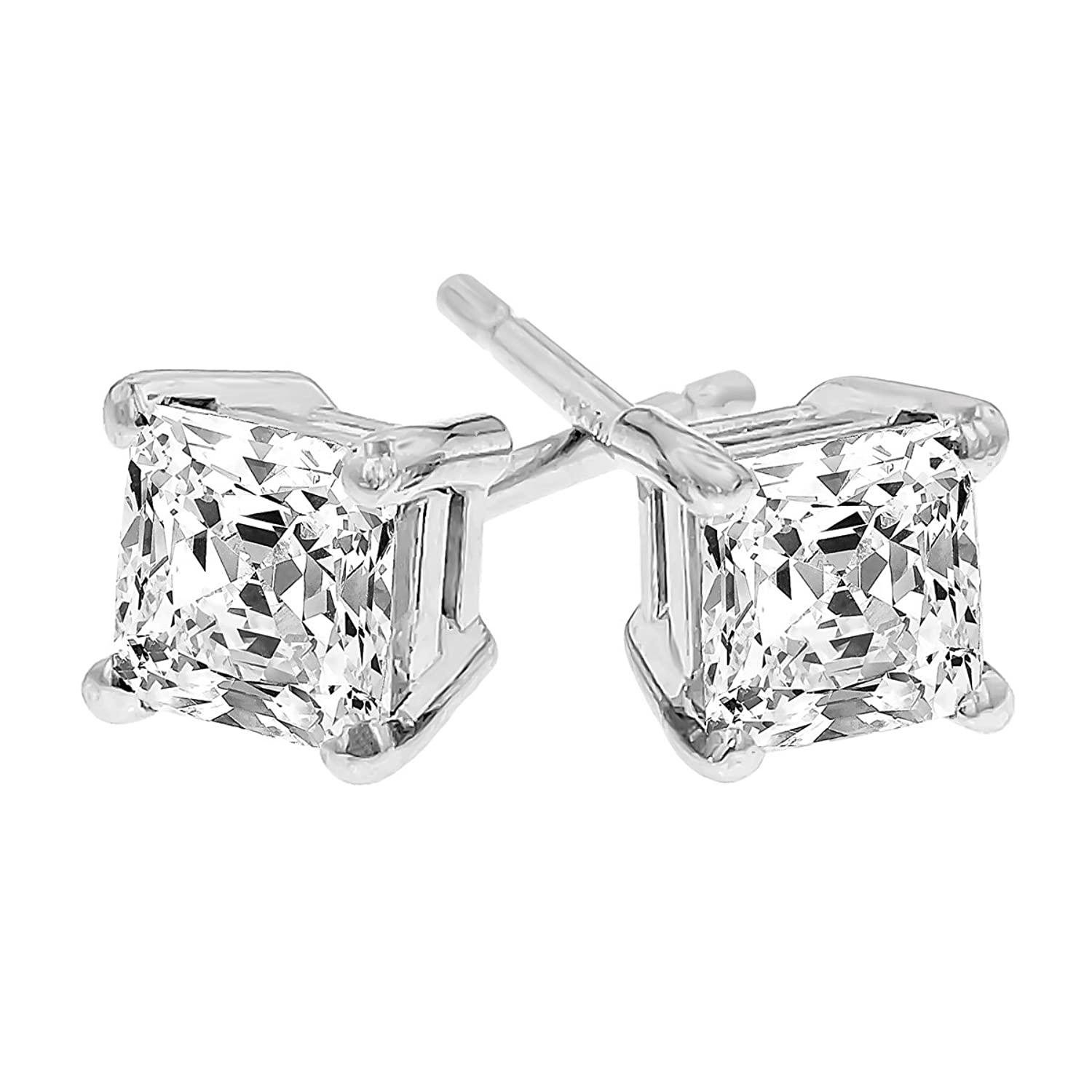 Amazon LIEBLICH Womens Princess Cut Cubic Zirconia Stainless