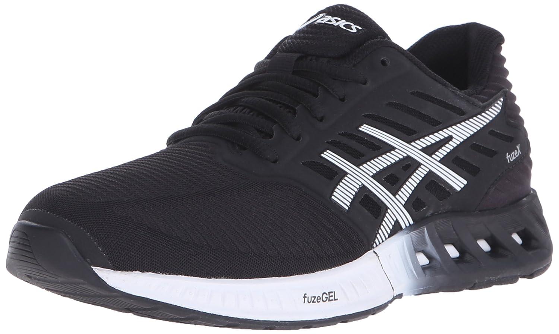ASICS Women's fuzeX Running Shoe B00YB0P5V4 12 B(M) US|Black/White/Onyx