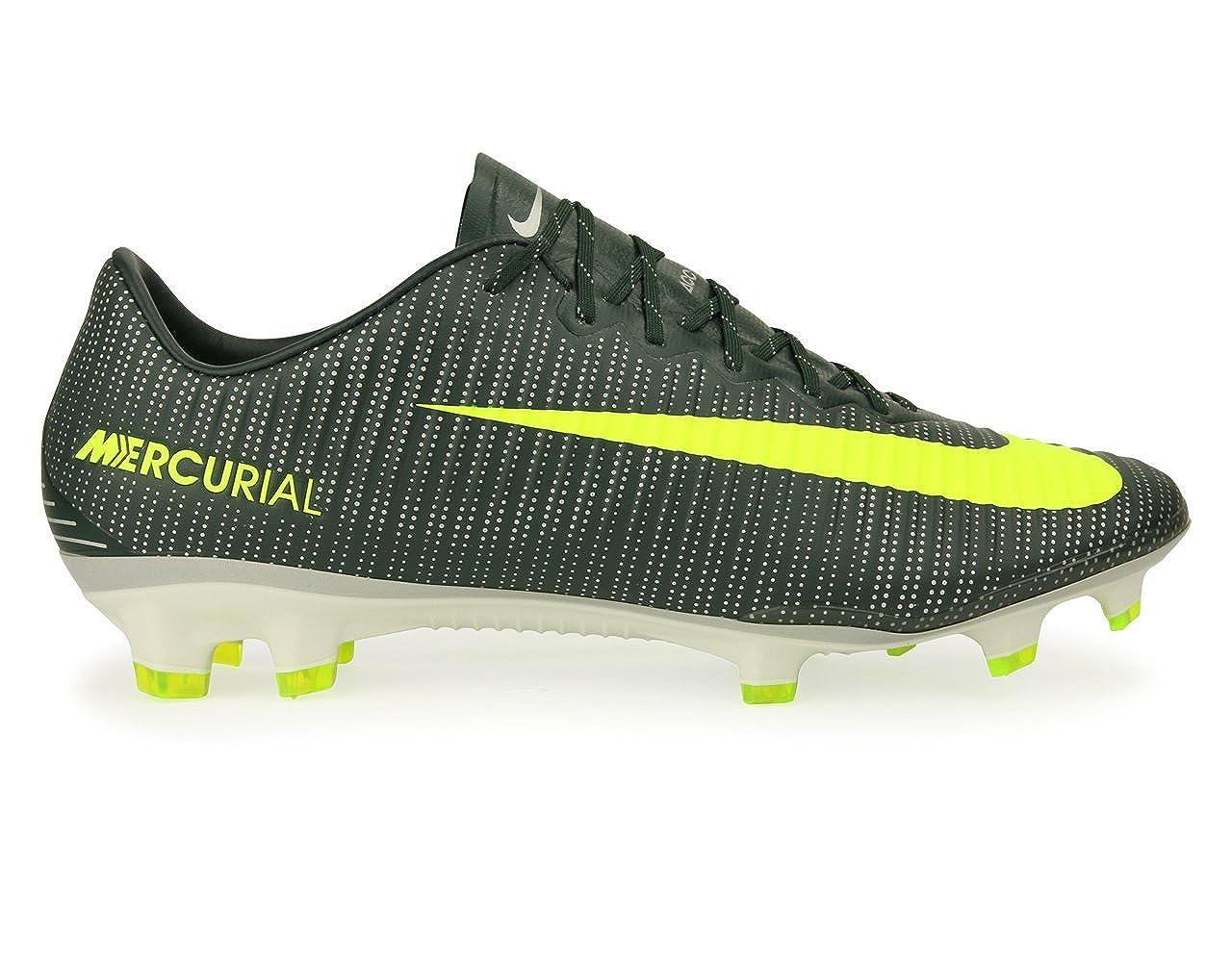 outlet store 94181 31aea Amazon.com | Nike Men's Mercurial Vapor XI CR7 FG Seaweed ...