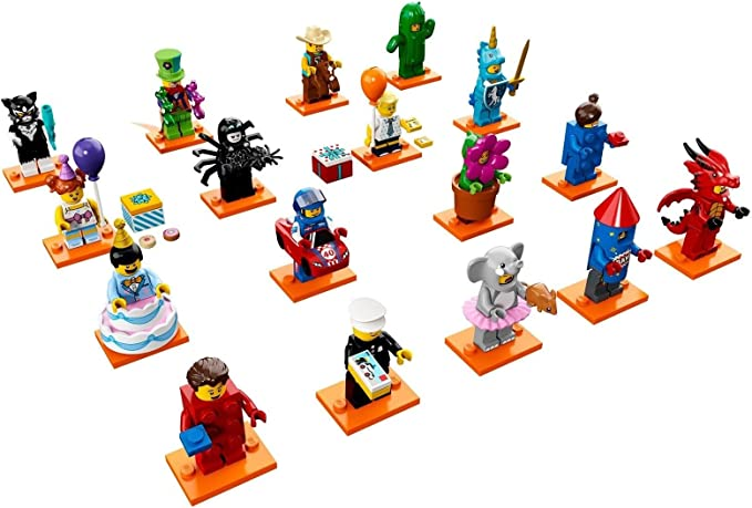 Party 71021 Lego Brick Suit Girl 40th Anniversary Lego  Mini figure Series 18