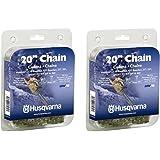 Husqvarna 531300441 20-Inch H80-72 (72V) Saw Chain, 3/8-Inch by .050-Inch (2 Pack)
