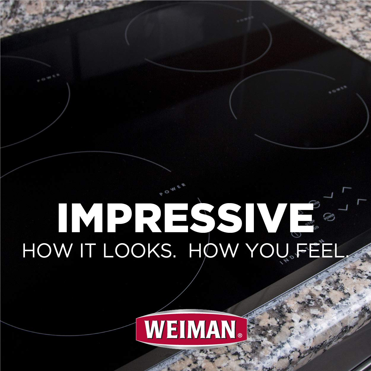 Weiman Ceramic & Glass Cooktop Cleaner - 22 Ounce [6 Pack] - Daily Use Professional Home Kitchen Cooktop Cleaner and Polish Use On Induction Ceramic Gas Portable Electric by Weiman (Image #2)