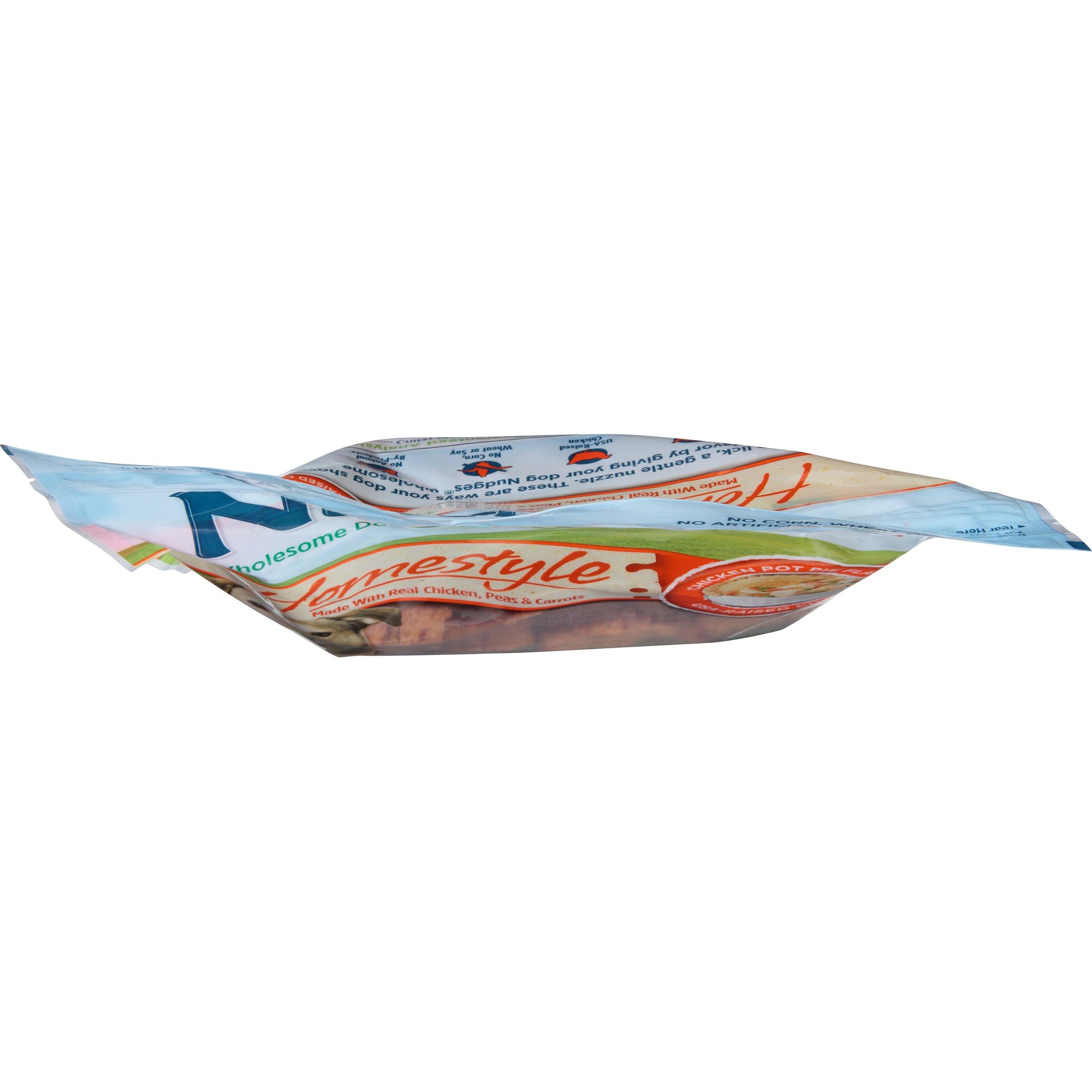 Nudges Homestyle Chicken Pot Pie Dog Treats, 16 oz