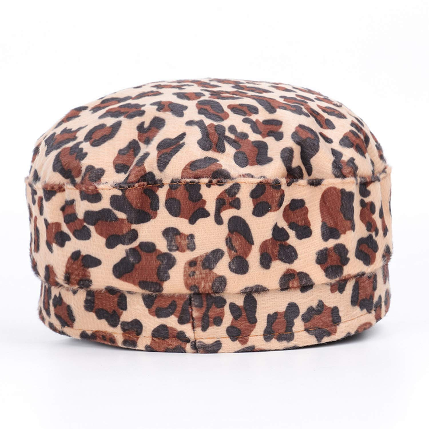 Autumn and Winter New Leopard Army caps Warm Beautiful Pattern Mens and Womens Universal Outdoor Fashion hat