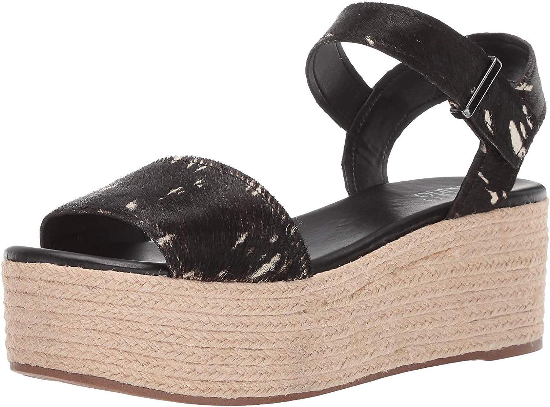 Franco Sarto Womens Tola Espadrille Wedge Sandal