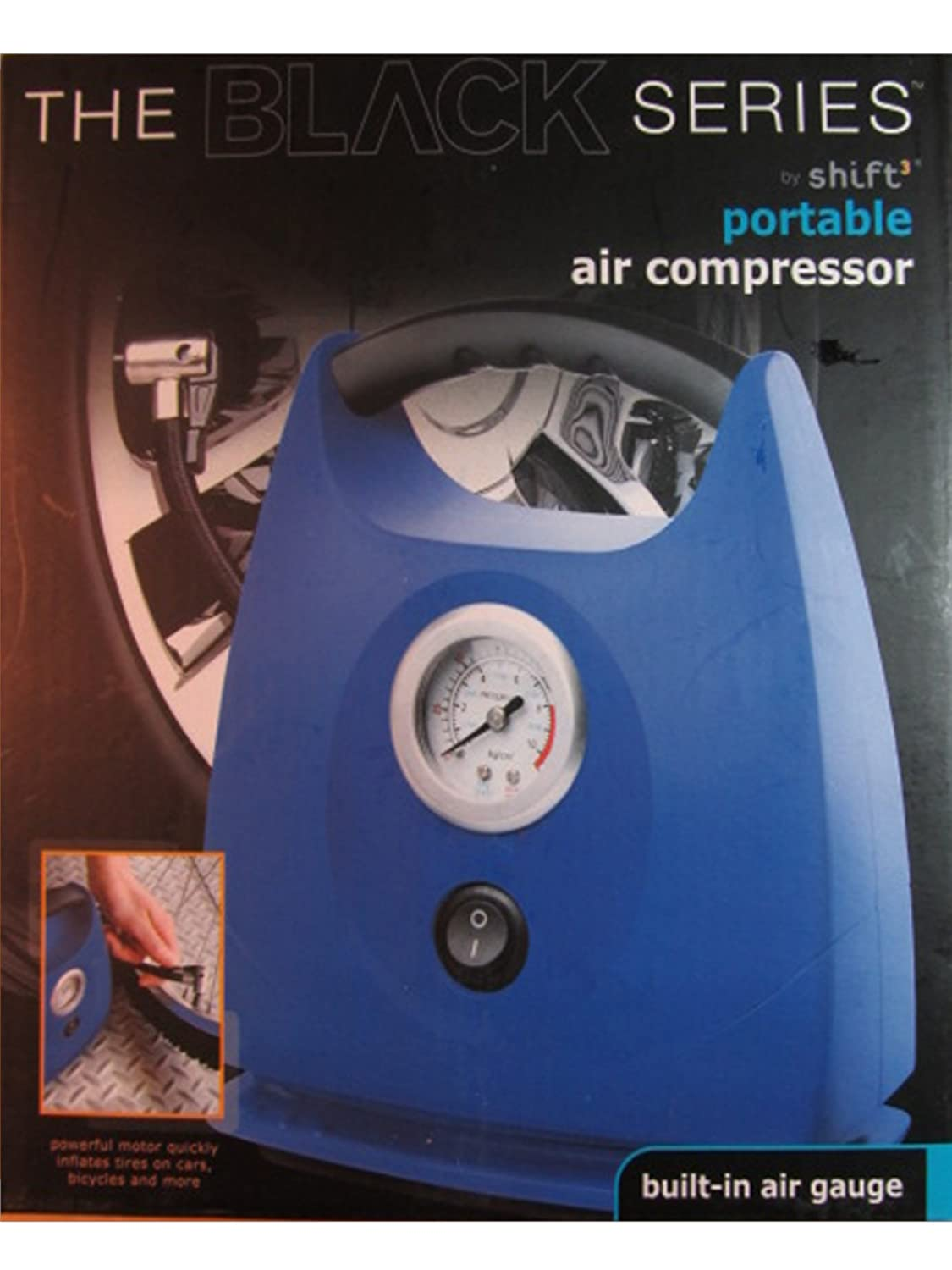 The Black Series Portable Air Compressor Shift3 BS-1003003