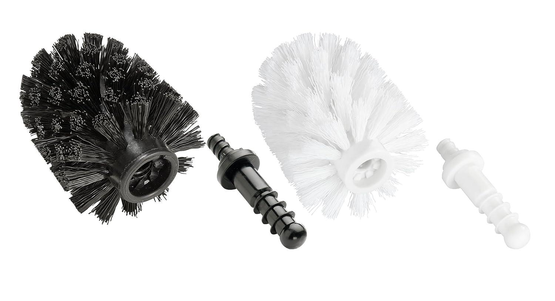 Wenko Cepillo de Reserva con Adaptador 7.5x7.5x9.3 cm Negro