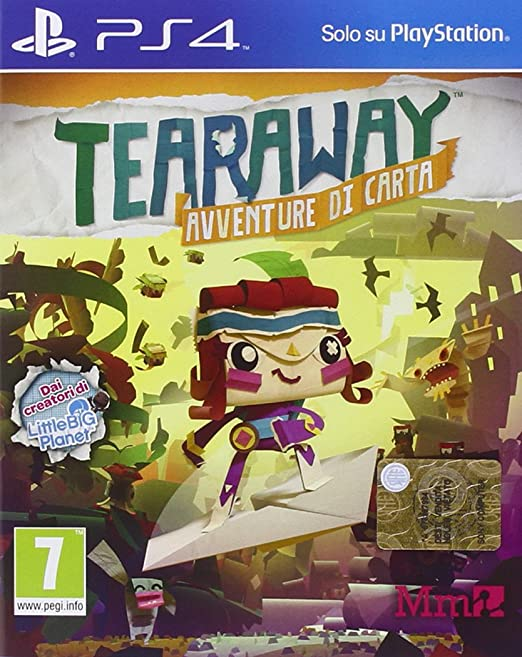 14 opinioni per Tearaway Unfolded