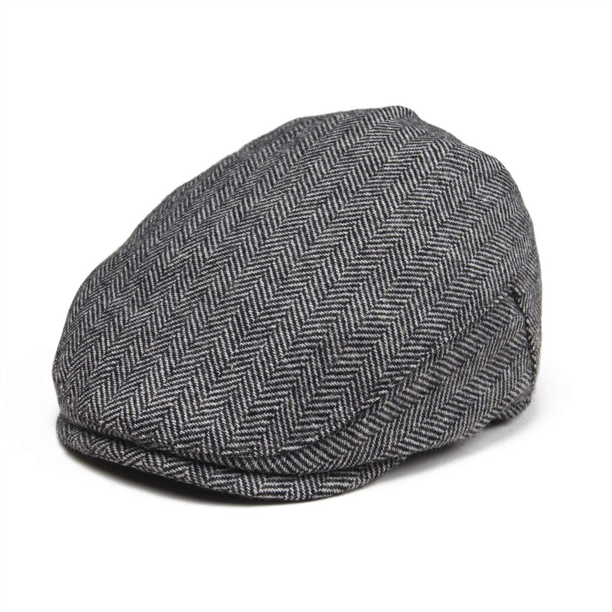 93f6055b JANGOUL Kids Wool Tweed Flat Cap Herringbone Boy Girl Newsboy Caps Infant  Toddler Child Youth Beret Hat Ivy ...