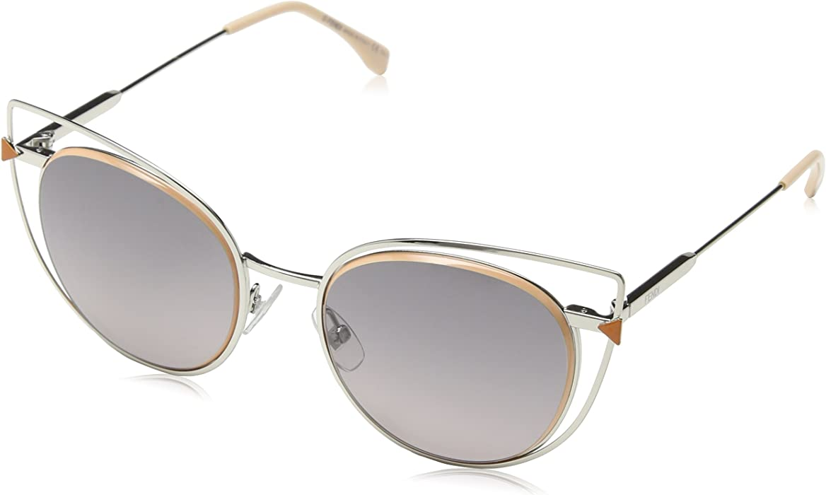 bb5cc03ecab3e Fendi Damen FF 0176 S 010 53 Sonnenbrille