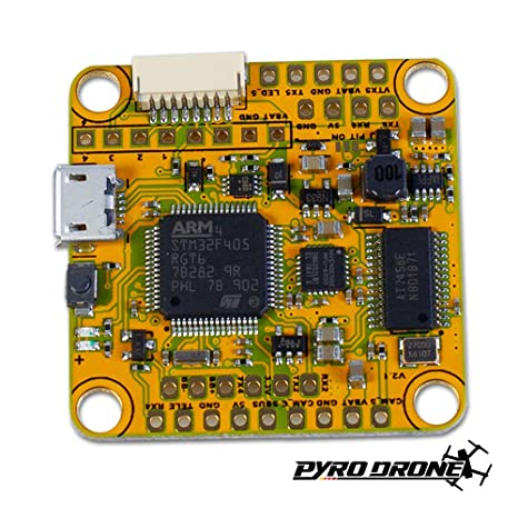 Amazon com: HyperLite F4 OSD V2 with VTX Pit Mode STM32F405 CPUE