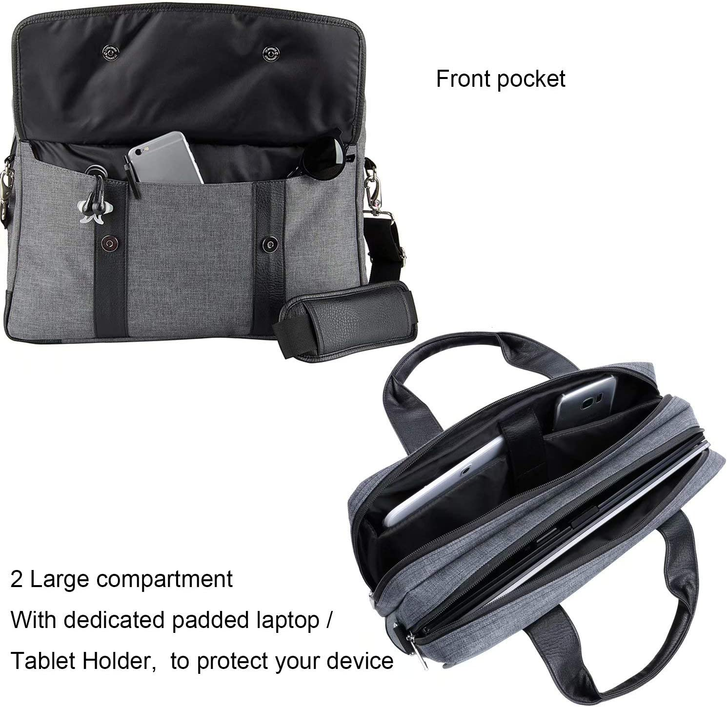 15.6 in Laptop Bag for Dell Inspiron 15 3505 3583 3593 3595 5502 5505 5591 5593 7501 7506 7590 7591