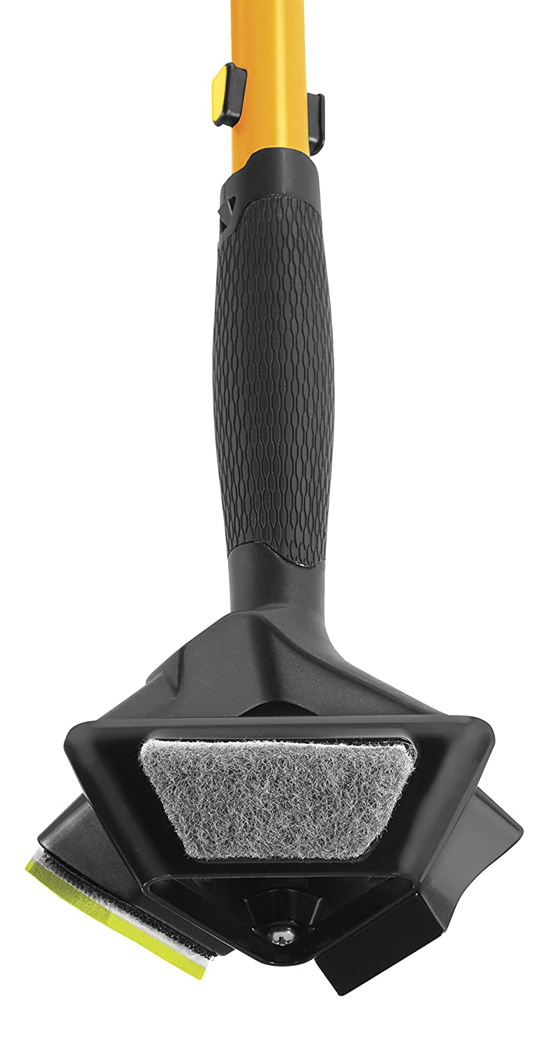 Rubbermaid Commercial Products Maximizer 3-in-1 Medium Scrubber Pad, Black (2018784)