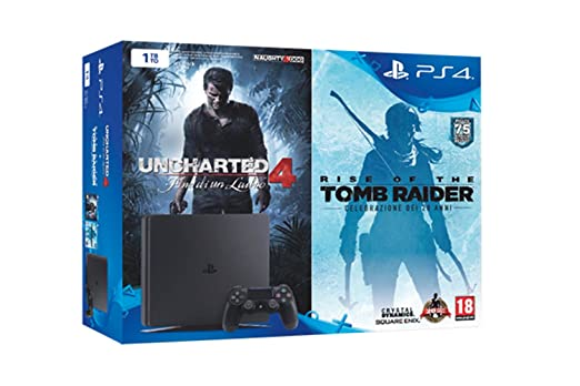 18 opinioni per PlayStation 4 1 Tb D Chassis Slim + Uncharted 4 + Tomb Raider [Bundle]