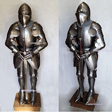 Amazon.com NAUTICALMART Medieval Knight Suit of Armor